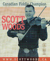 Waterford United Church presents Scott Woods and his band