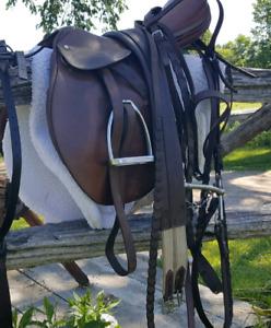 Springtree English saddle