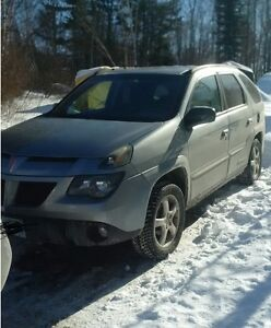 2004 Pontiac Aztek SUV, Crossover HAS SAFTY