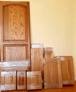 Very good condition of the kitchen doors
