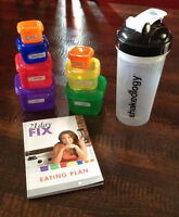 21 day fix containers & info/instruction book