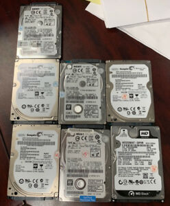 """Used 320Gb 2.5"""" 7200rpm hard drive for sale"""