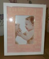 It's A Girl Photo Frame NEW!