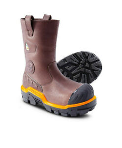 Brand New Dunlop. Men's 11'' safety work boot, Pull On Leather.