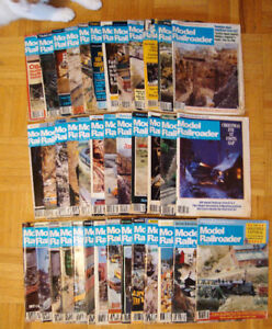 38 Issues of Model Railroader Magazine - 1981-4