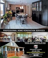 Professional Home Renovations by Renovation Classics