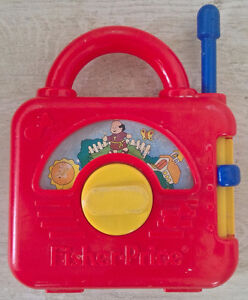 Vintage. Collection. Jouet FISHER PRICE. Radio