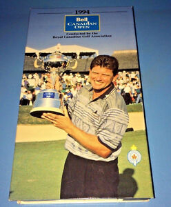 VHS: 1994 Bell Canadian Open ~Nick Price~ Tournament Highlights