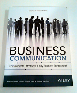 Business communications second Canadian edition