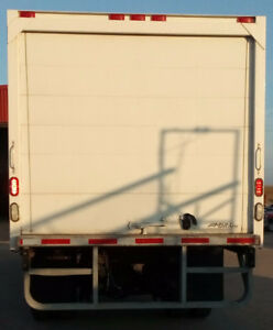 24ft Straight Truck Box with Roll-Up Door