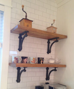 RECLAIMED RUSTIC ROUGH SAWN SHELVES / MANTELS - Wood Hippy Co.