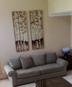Beautiful, large Tree paintings - suit double height ceiling