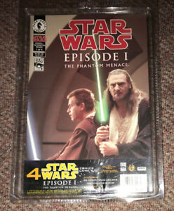 Star Wars Episode 1 Comic Book Collector Pack NEW! all 4 of 4