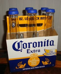 6 pack of Corona salt and pepper shakers (spice)