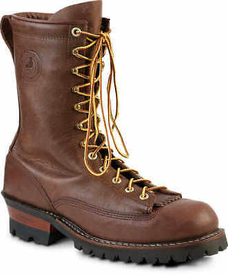 Brown Size 9D White's Boots Hathorn Explorer Lace-to-Toe Logger Boot