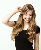 Luxy hair extension, dirty blond 250g, neuf
