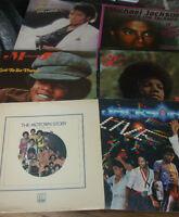 inyl 13  LPS Record lot  Records Michael Jackson 5 Five