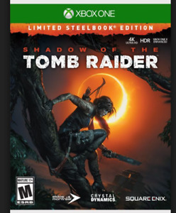 Shadow of the Tomb Raider Steel Book Xbox 1 One