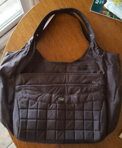 NEW-Brown Lug Purse-