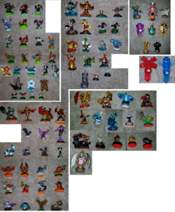 Skylanders figures for XBOX One, XBOX 360, PS4, PS3 and Wii