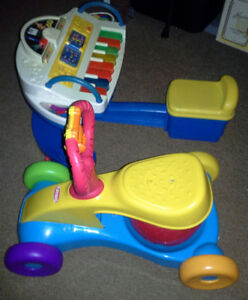 Ride on and sit on toys