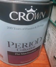 Crown Period paint collection-Plush parlour