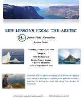Quinte Field Naturalists presents Life Lessons from the Arctic