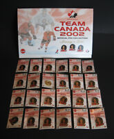 Team Canada 2002, Olympic Men's Hockey, Official Pin Collection