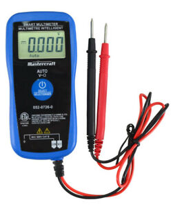 Mastercraft Smart Multimeter