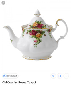 ISO: Old Country Roses Royal Albert teapot