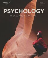 Psychology variations and themes 3RD EDITION-10/10 condition