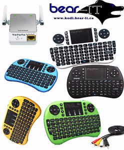 Rechargeable Mini wireless handheld keyboard 2.4GHz Portable