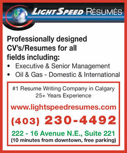 Resume Writing | Find Other Services in Calgary | Kijiji Classifieds