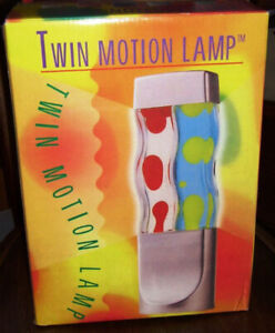 New Twin Multi-Colored Novelty Party Lava Lamp Psychedelic Light