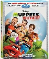 The Muppets and Muppets Most Wanted blu-ray/dvd combo packs