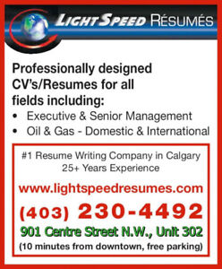 Resume Service Find Other Services In Calgary Kijiji Classifieds