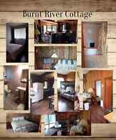 3 Bedroom waterfront cottage for rent in kawartha lakes