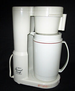 = = = CAFETIÈRE MR. COFFEE 8 TASSES - CARAFE THERMALE = = =