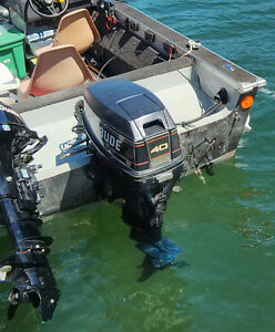 40 hp Evenrude Outboard