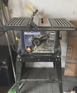 """MASTERCRAFT MAXIMUM 10"""" TABLE & 12"""" MITER SAW WITH STANDS"""