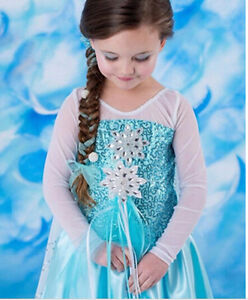 Frozen Inspired Elsa Dress - New!