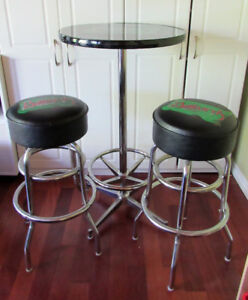 Bar Height Table & 2 Stools