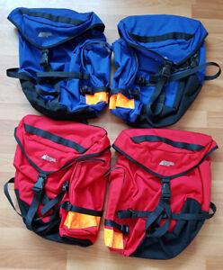2 ensembles de sacoches de vélo MEC