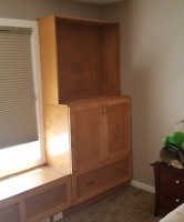 Woodwork, cabinets, furniture, fnishing and more!