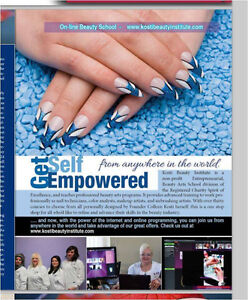NEWEST CHROME FUNdraising Nail Artistry Luncheon Workshop Windsor Region Ontario image 9