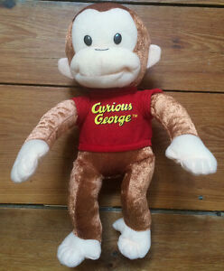 Curious George Stuffed Toy - $10