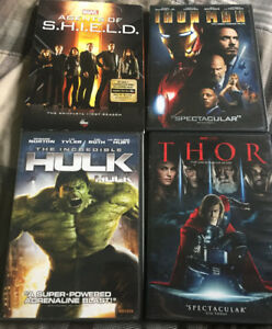 Marvel dvd bluray