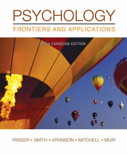 Psychology Frontiers and Applications 5th ed
