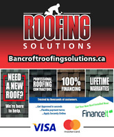 Roofing Solutions - Financing Options Available!!