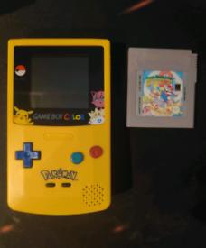 Nintendo GameBoy Color Pokemon Edition Refurbished w/ Super Mario Land
